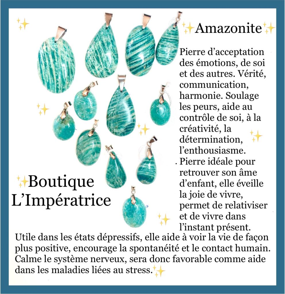 FOCUS sur … l'Amazonite
