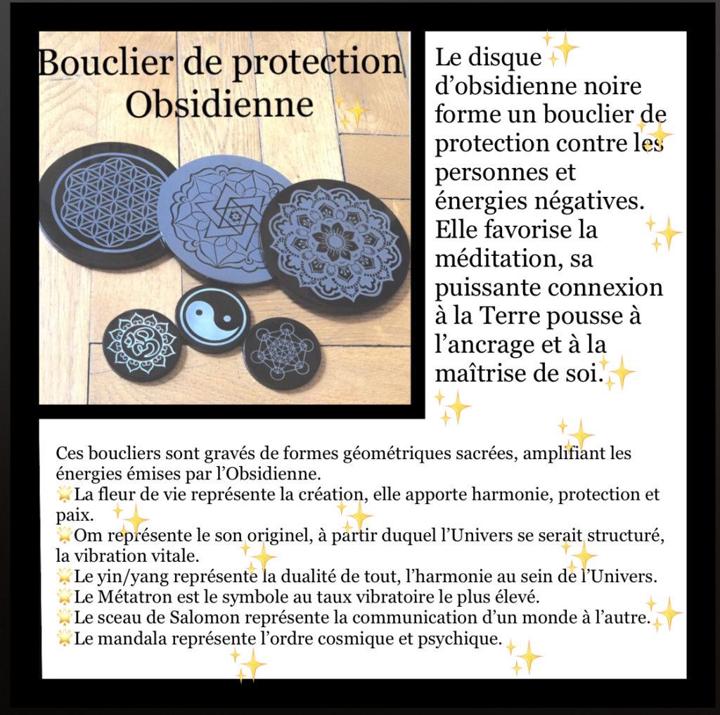 FOCUS sur… les Boucliers de Protection Obsidienne