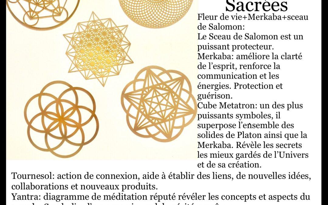 FOCUS sur… les formés géométriques sacrées
