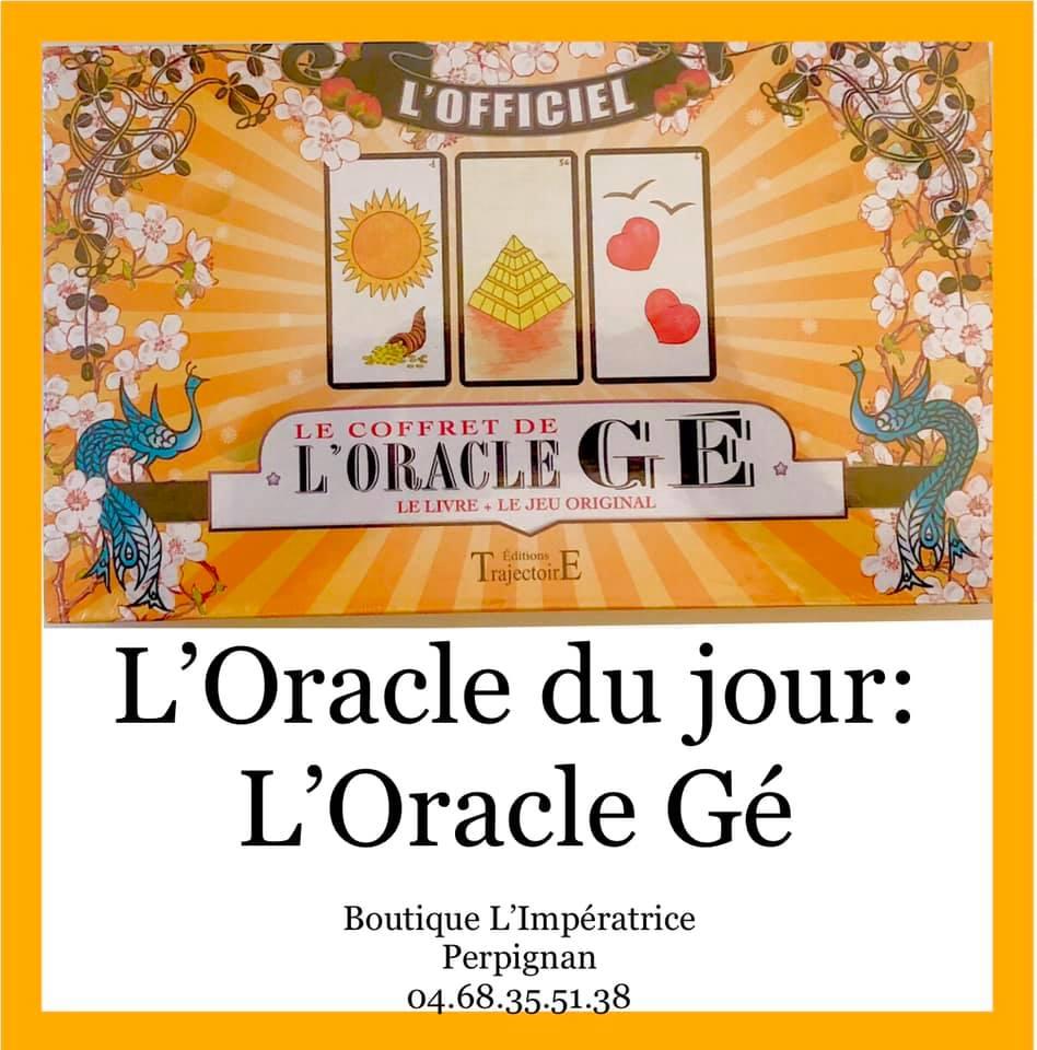 Idée KDO… l'Oracle Gé