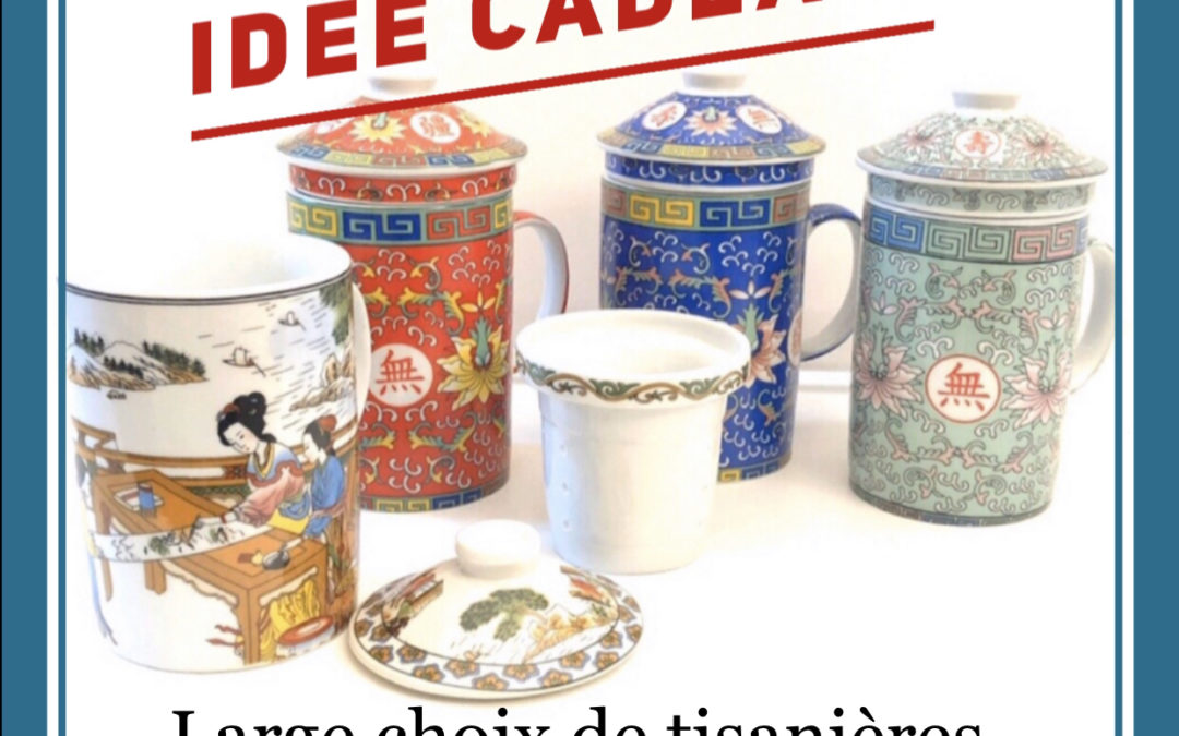 Idées KDO… Un bel objet pour boire thé, tisanes et infusions
