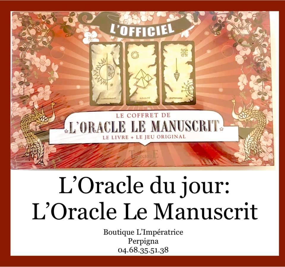 Idée KDO… l'Oracle le Manuscrit